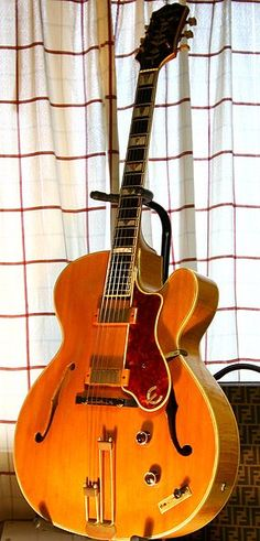 Vintage 1951 Epiphone Zephyr Deluxe Archtop Guitar