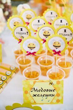 Первый День Рождения в стиле пчелки Майи или наша медовая вечеринка в честь Дня Рождения дочери Майи - День рождения и другие детские праздники - Страна Мам