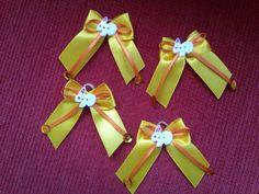Lacinhos Páscoa amarelos  *********************10 laços - R$ 9,00