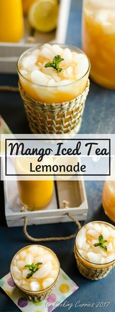 Mango Iced Tea Lemonade