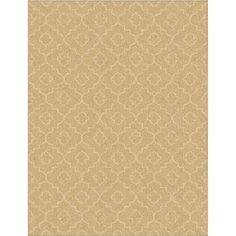 Style Selections Trennmar Rectangular Cream Geometric Woven Area Rug (Common: 8-ft x 10-ft; Actual: 7.83-ft x 10-ft)