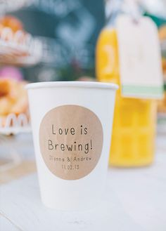 Love is brewing!