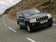2007 Model Jeep Grand Cherokee UK Version HD Wallpaper