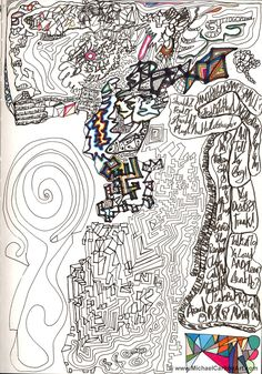 "Doodle sketch from 2006 - ""Story of my Life..."""
