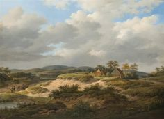 Paysage animé by Adrianus Serne