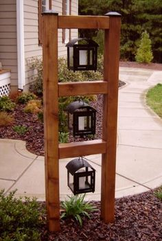 Garden Yard Ideas, Backyard Projects, Outdoor Projects, Garden Projects, Wood Projects, Outdoor Living, Outdoor Decor, Outdoor Walls, Front Yard Landscaping