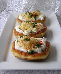 Cooking Recipes, Healthy Recipes, Main Meals, Bruschetta, Bon Appetit, Baked Potato, Side Dishes, Tofu, Food And Drink