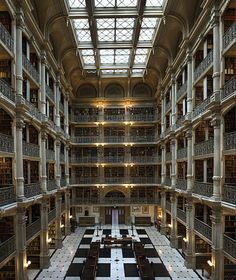 Johns Hopkins University's George Peabody Library