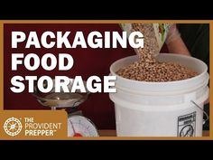 Packaging Long Term Food Storage: How to Do It Right - Prepping Survival Survival Food, Survival Prepping, Emergency Preparedness, Hurricane Preparedness, Survival Videos, Camping Survival, Survival Skills, Permaculture, Long Term Food Storage