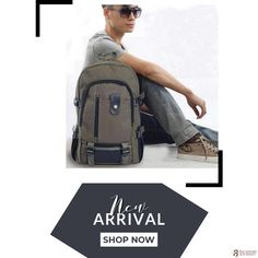 Canvas Backpack, Sling Backpack, Leather Backpack, Hiking Bag, Leather Products, School Fashion, Canvas Leather, Vintage Travel, School Bags