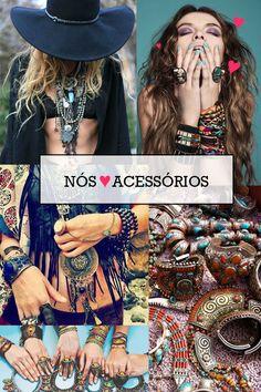 tendência - mix de acessórios, bijouterias, anéis, pulseiras, colares, body chain e muito brilho. Bling Bling  http://viroutendencia.com/2014/02/20/tendencia-mix-de-acessorios-para-exagerar-sem-medo/