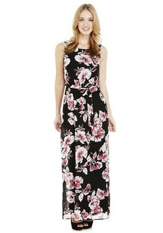 F&F Floral Maxi Dress. This would be a lovely evening dress too! Shops, Floral Maxi Dress, Evening Dresses, Fashion Outfits, Clothes For Women, My Style, How To Wear, Party Dresses, Flowers