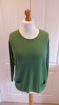 Jumper with button back detail