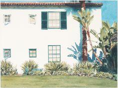 "Robert Bechtle United States Born 1932 ""Santa Barbara Garden""."