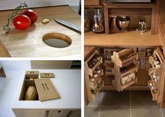 20 nagyszerű ötlet a praktikus konyháért, amit már tegnap tudni kellett volna! House Design, Kitchen, Table, Furniture, Home Decor, Architecture, Cuisine, Arquitetura, Cooking
