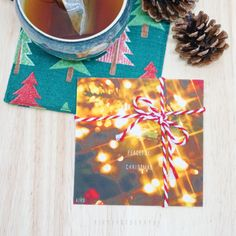 Peaceful Christmas Card  <Introduction> Size:around 9.5cm x 9.5cm  Weight : 240g Art paper Made in Hong Kong