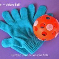 Play Velcro Ball {Fun Games}