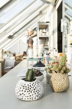 Quirky Hand-Built Ceramics and More From Kabin Shop