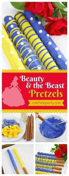 Beauty and the Beast Pretzels