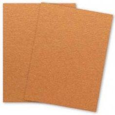Stardream Metallic - 8.5X11 Paper - COPPER - 81lb Text (120gsm) - 25 PK