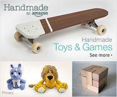 Fitness Club UK: Shop Amazon - Handmade Toys & Games