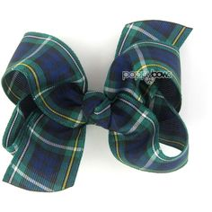 Plaid Hair Bow School Uniform Hair Bows School Uniform Bow Back to... ($5.95) ❤ liked on Polyvore featuring accessories, hair accessories, hair, barrettes & clips, grey, hair bows, hair clip accessories, ribbon hair clips, barrette hair clip and alligator hair clips