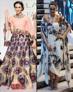 Rank 9: It was a star studded affair at #AnamikaKhanna's show! The next diva to walk for the designer was #SonakshiSinha who came to attend the show wearing a printed draped dress and matching cape.  Check Out Latest Fashion Trends Only On www.biscoot.com  #LakmeFashionWeek #BollywoodFashion #Biscoot #BollywoodActress