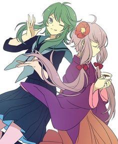 Gumi and Yukari
