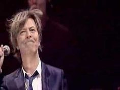 """My favorite version of David Bowie singing Heroes. """"We can be heroes, just for one day."""" (Or maybe a lifetime.)"""