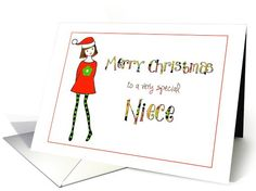 #Christmas for #niece #card sold to customer in Nevada, United States