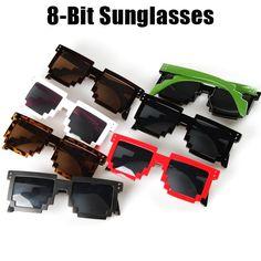 592acd3a0cd Bit Fashion Sunglasses Gamer Geek Designer Men Women Unisex Sunglasses  Retro Sunglasses