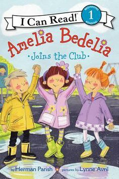"""Read """"Amelia Bedelia Joins the Club"""" by Herman Parish available from Rakuten Kobo. Learn to read with young Amelia Bedelia! Amelia Bedelia has been loved by readers for more than fifty years, and it turn. Books For Beginning Readers, Early Readers, Amelia Bedelia, Sounding Out Words, I Can Read Books, New Children's Books, Best Selling Books, Book Authors, Learn To Read"""