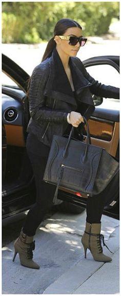 Kim Kardashian's  Céline Chain Sunglasses