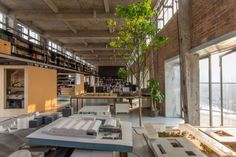 Old factory turned into loft industrial interiors pinterest loft - An office turned into a home ...