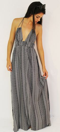 Patterned Maxi. Perfect.