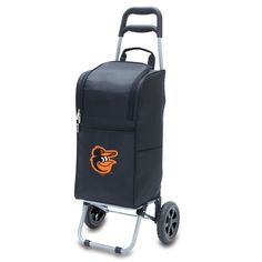 The Baltimore Orioles Cart Cooler with wheels