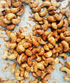 Honey And Mustard Roasted Cashews  http://www.refinery29.com/joy-the-baker/44