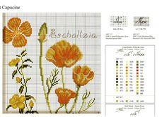 Návod -Žlutooranžové květy II. 3
