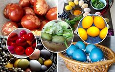 Happy Easter, Cookie Decorating, Easter Eggs, Serving Bowls, Easy Meals, Food And Drink, Fruit, Vegetables, Cooking
