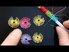 PİPET OYASI With the re-tricks, you can make the lecture video in many districts. Information - YouT Hand Embroidery Videos, Hand Embroidery Flowers, Silk Ribbon Embroidery, Crewel Embroidery, Hand Embroidery Designs, Beaded Flowers Patterns, Crochet Flower Patterns, Beaded Jewelry Patterns, Baby Knitting Patterns
