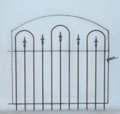 Wrought Iron Garden Gate - High Point 3' x 3.5' - Relic Gate
