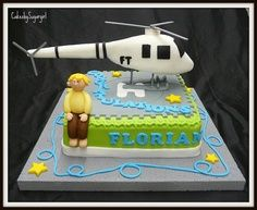 helicopter cake ideas - Google Search