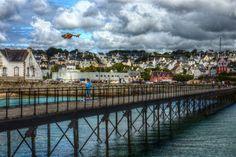 Audierne Finistère ~ ~ ~ Bretagne France ~ La ville de Audierne tourne autour de sa longue plage de sable fin et son port, situé sur l'estuaire de la Goyen.