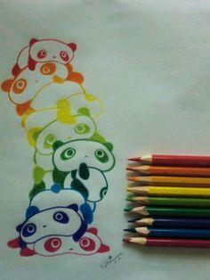 Awwww what cute panda drawing!