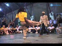 Capoeira video: Mestre Leopoldina e Célio Gomes