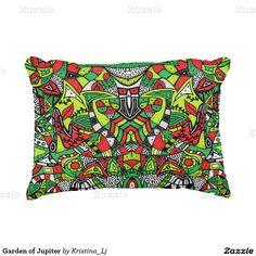 Garden of Jupiter Accent Pillow