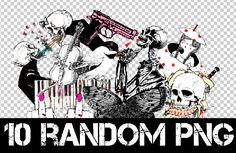 1O RANDOM PNG + by Discopada.deviantart.com