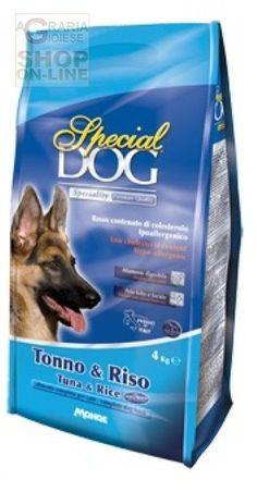 SPECIAL DOG PREMIUM CROCCHETTE PER CANI CON TONNO E RISO KG. 4 http://www.decariashop.it/mangimi-per-cani/15466-special-dog-premium-crocchette-per-cani-con-tonno-e-riso-kg-4.html