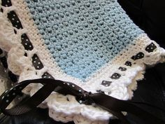 baby gift - SO EASY!!! I love the border in a different color.