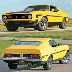 When Ford canceled their Trans Am racing program in they also canceled the 1971 Boss 302 Mustang, but one car, a 1973 Mustang, Mustang Boss 302, Ford Mustang Shelby, Mustang Cars, Jacked Up Chevy, Jacked Up Trucks, Big Trucks, Chevy Trucks, Royce Car
